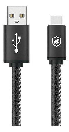 Cabo Turbo Militar - 1,5 M - Type C - Tipo C / USB-A - Original - Gshield