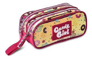 Estojo Holográfico Duplo Candy Girl Clio