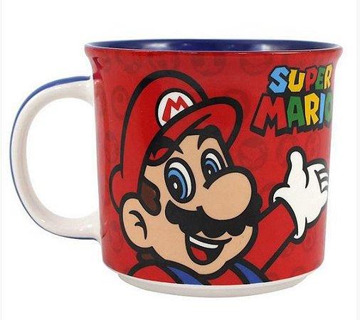 Caneca Tom 350ml Super Mario