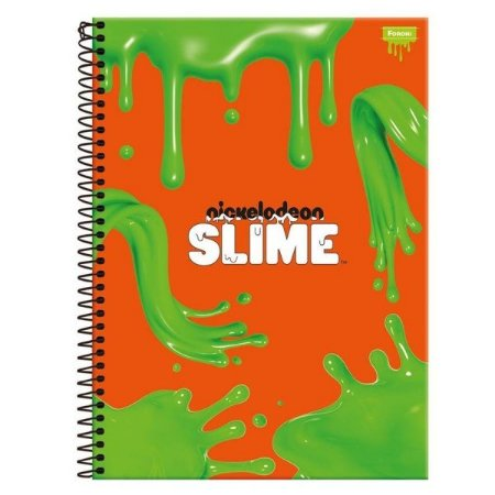 Caderno Universitário CD 96 Fl Slime