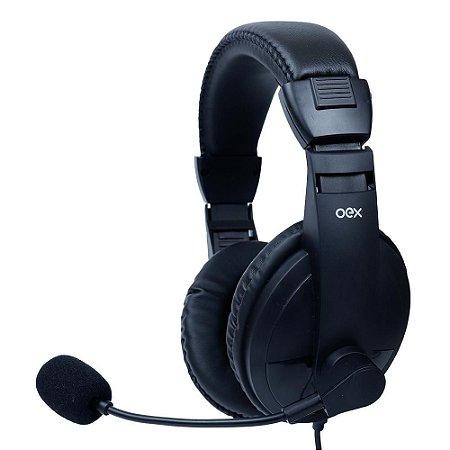 Headset Oex Call Pro, USB - HS 102