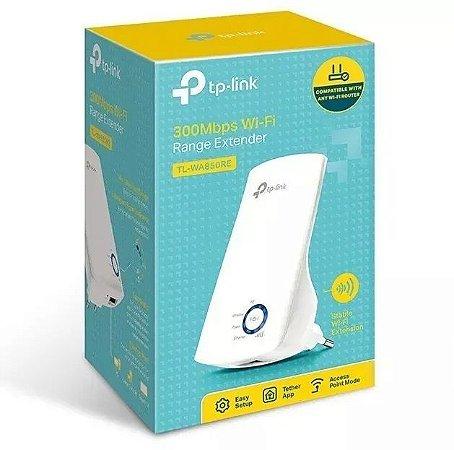 Repetidor De Sinal Wireless Wi-fi 300mbps Tp-link Ti-wa850re