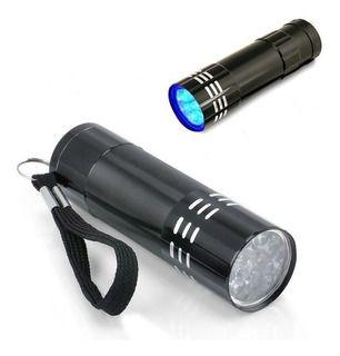 Lanterna LED UV para Testagem
