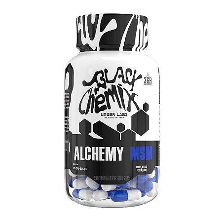 ALCHEMY MSM 60 CAPS BLACK CHEMIX BY UNDER LABZ