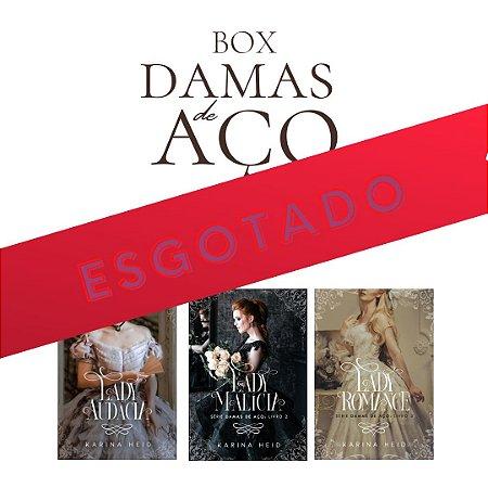 BOX Damas de Aço (Lady Audácia, Malícia e Romance) + marcadores