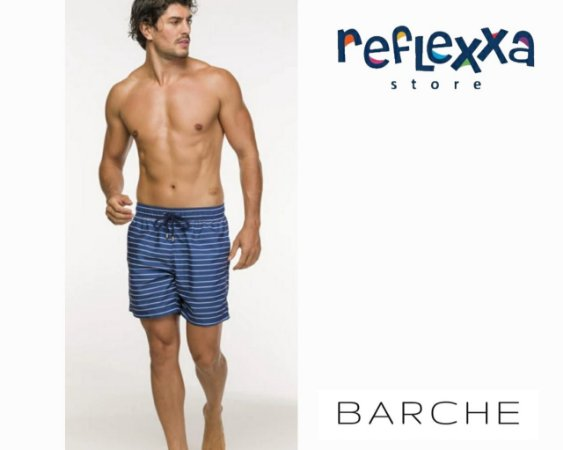 Swim Shorts Barche Adulto Litras Marinho