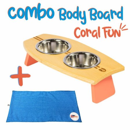 COMBO BODY BOARD CORAL FUN