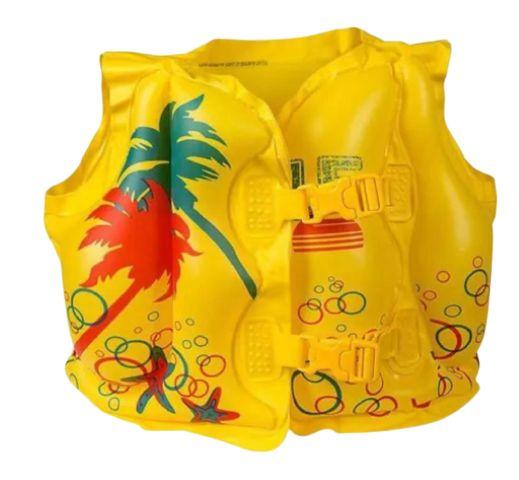 Colete inflável tropical