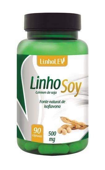 LinhoSoy gérmen de soja 90 cáps 500mg LinhoLev