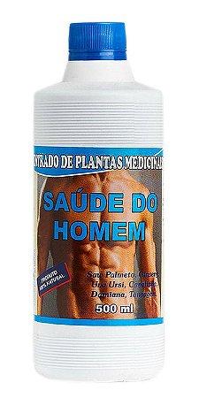 Saúde do Homem Concentrado de plantas medicinais 500ml
