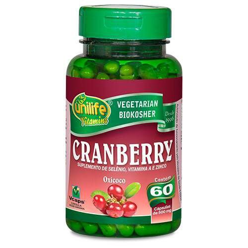 Cranberry 60 cápsulas 500mg Unilife