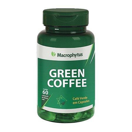 Green Coffe 60 cápsulas 500mg Macrophytus