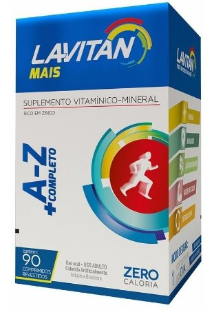 Multivitamínico Lavitan mais 90caps CIMED