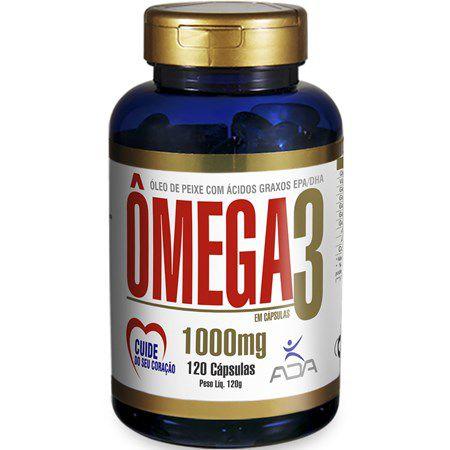Omega 3 120 Cápsulas 1000mg ADA