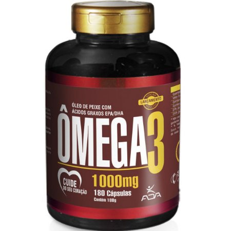 Omega 3 180 Cápsulas 1000mg ADA