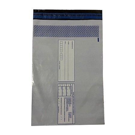 Envelope De Segurança Para E-Commerce 25cm X 36cm + 3cm De Aba Com 100 Unidades