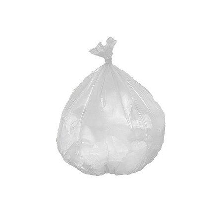 Saco de Lixo Reforçado Consultório Pia & Banheiro Branco C/ 100 Unidades