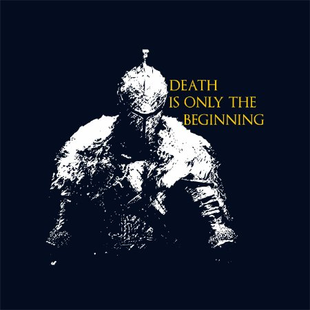 Camiseta Death is Only The Beginning