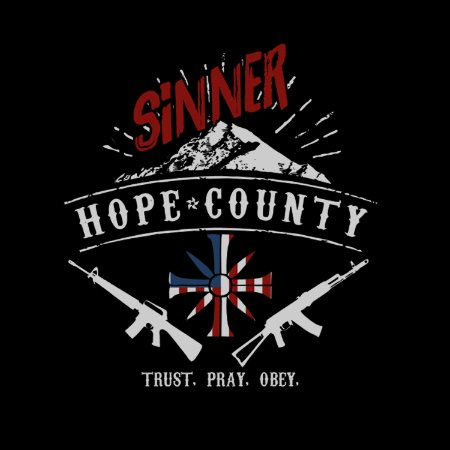 Camiseta hope county