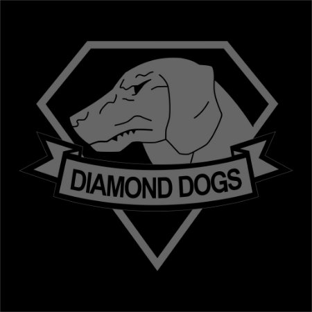 Camiseta Metal Gear Diamond Dogs