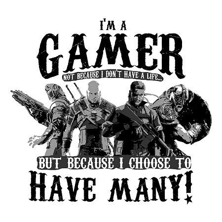 Camiseta I am a gamer