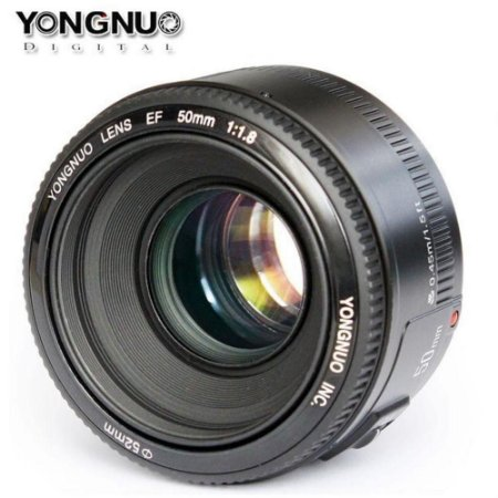 Lente Yongnuo 50mm F/1.8 AF para Canon
