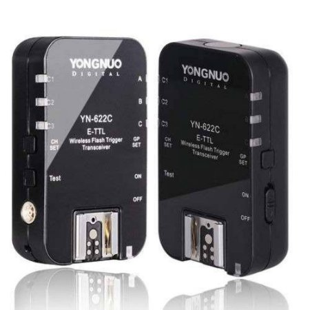 Radio Flash Automático Yongnuo YN-622C II Wireless E-TTL Para Canon