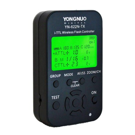 Controlador de Rádio Flash Yongnuo YN622N-TX para Nikon
