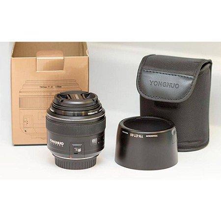 Lente Yongnuo 85mm F/1.8 para Canon