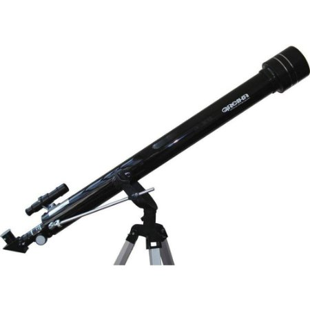 Telescópio Azimutal Greika Tele-90060 Com Distância Focal De 900mm E Objetiva 60mm