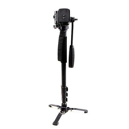 Monopé Hidráulico com pé de galinha Greika WT-3958M para Câmera Dslr até 2,5 kg
