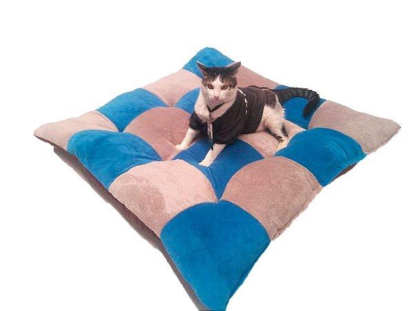 Caminha Super Fofa de Manta Plush para Cães e Gatos — Cores Sortidas