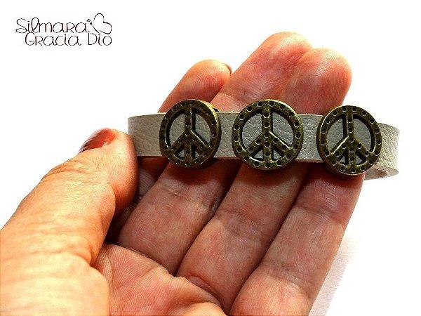 Pulseira Paz Amor Marfim