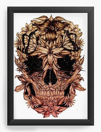 Quadro Decorativo Skull Beautiful