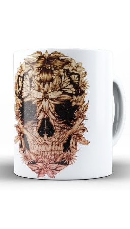 Caneca Skull Beautiful