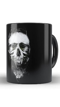 Caneca Skull X