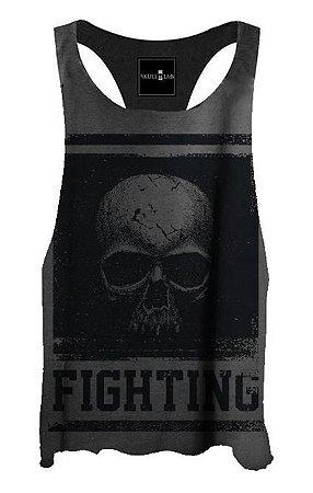 Regata Cavada Black Skull Fighting
