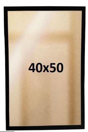 Moldura Madeira 40 x 50 cm (Para Quadros)