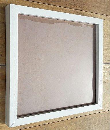 Moldura Madeira com Vidro 75 x 50 cm (Para Quadros)