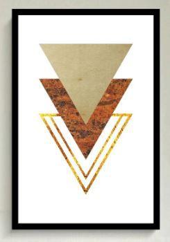 Moldura Madeira 90 x 60 cm (Para Quadros)