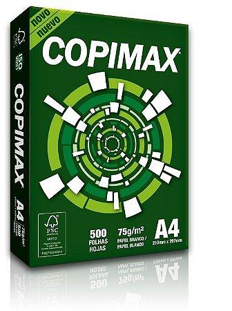 Copimax A4 75g Caixa com 10 Pacotes de 500 Folhas