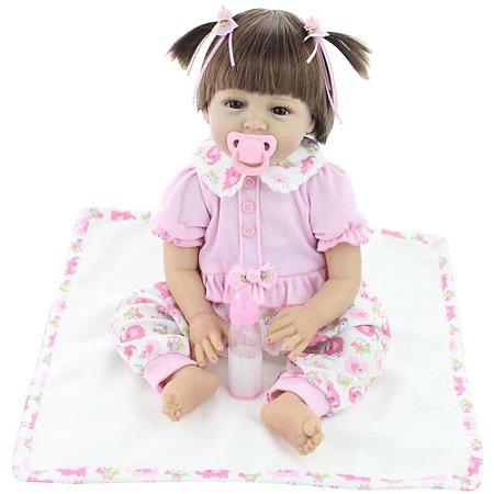 Boneca Bebe Reborn Laura Baby Sophia