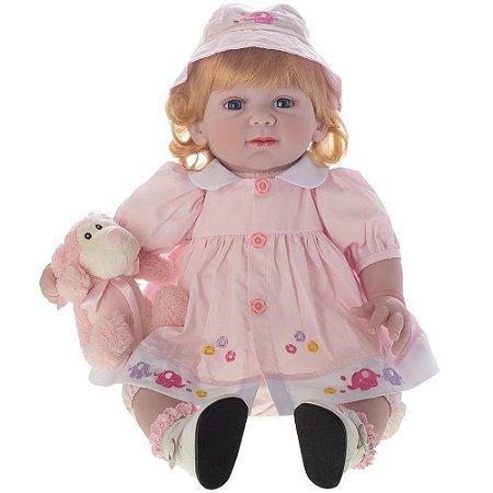Boneca Bebe Reborn Laura Baby Carla