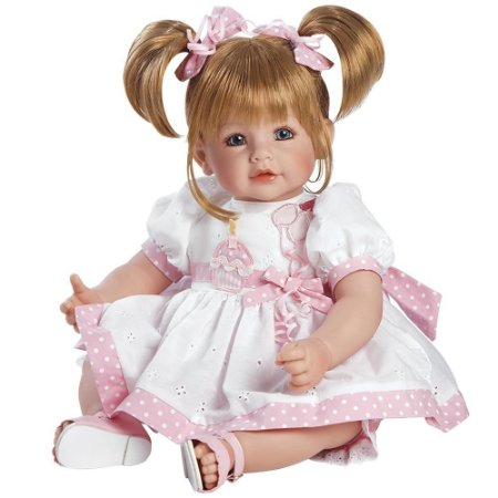 Boneca Bebe Reborn Adora Doll Happy Birthday