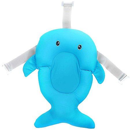 Almofada de Banho Para Bebê Azul