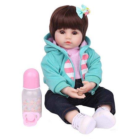 Boneca Bebe Reborn Laura Baby Brenda