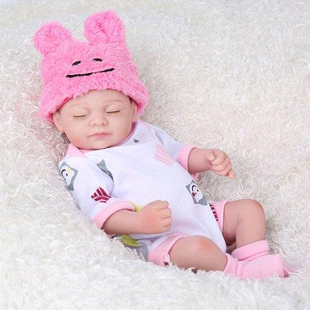 Boneca Bebe Reborn Laura Baby Ester