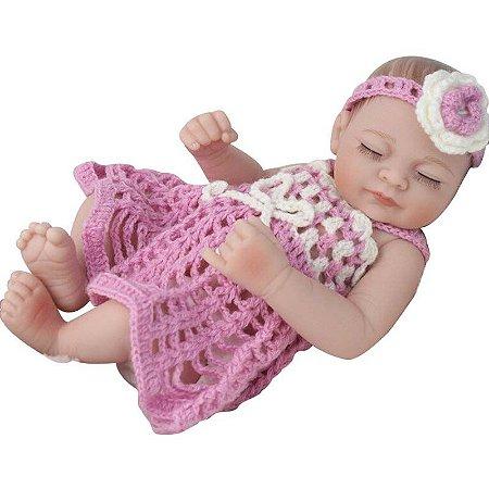 Boneca Bebe Reborn Laura Baby Fanny