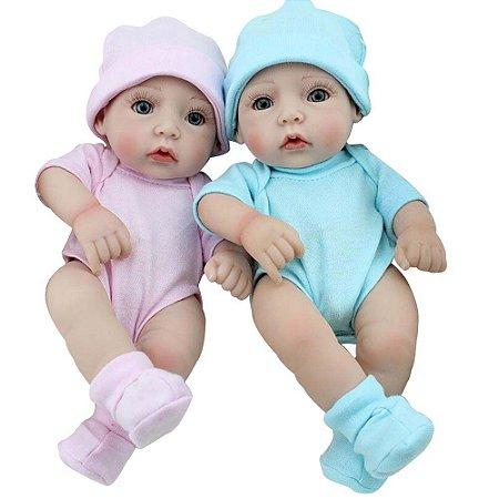 Boneca Bebe Reborn Laura Baby Gemeos