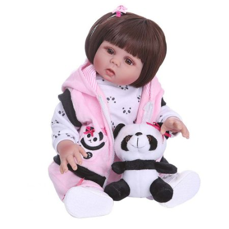 Boneca Bebe Reborn Laura Baby Jenifer